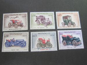 Monaco 1961 Sc 493-8 set MH