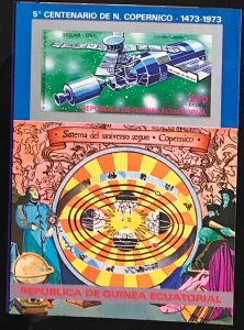 Equatorial Guinea #MiBl94 MNH S/S CV€7.50 Copernicus