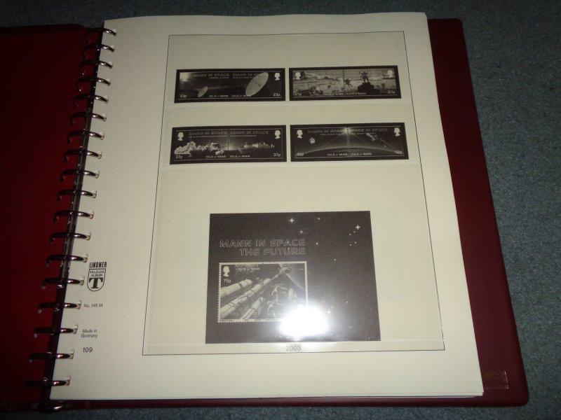 LINDNER ISLE OF MAN HINGELESS ALBUM 2003-2007