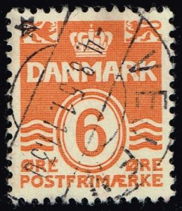 Denmark #224C Numeral; Used (3Stars)