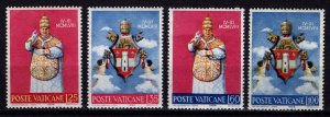 Vatican City 1959 Coronation of Pope John XXIII, Set [Unused]