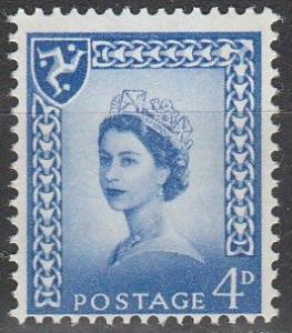 Isle Of Man #4  MNH (S9562)