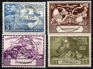 Dominica #116-9  F-VF Used  CV $5.55  (X1277)
