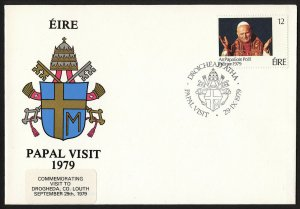 wc063 Ireland Papal Visit 1979 FDC first day cover
