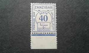 Zanzibar J22 MNH