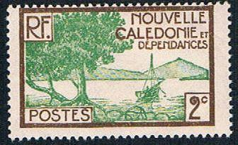 New Caledonia 137 MLH Bay Scene (BP4411)