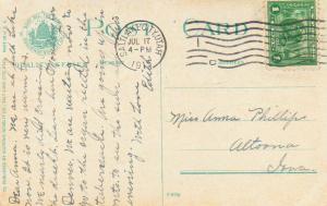 United States Utah Salt Lake City 1914 machine  1c Perf. 10 Panama Pacific PPC.
