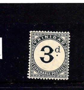 TRINIDAD  1905-06  3d   POSTAGE DUE MLH  SG D12