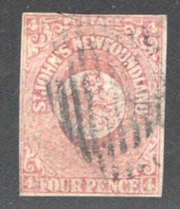 NEWFOUNDLAND #18 F/VF, Used  CV 70.00    ...   4350004