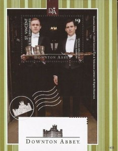 St Vincent - 2014 Downton Abbey William Mason, Thomas Barrow - S/S #3917
