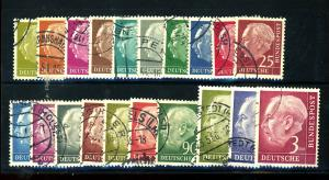 Germany #702-21 UseD F-VF Cat $22