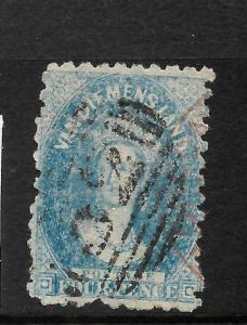 TASMANIA  1864-69  4d    QV  FU   P10   SG 62