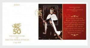H01 Jersey 2019 The Investiture of HRH The Prince of Wales 1st July 1969 FDC