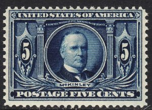 1904 U.S Louisiana Purchase Exposition 5¢ issue MNH Sc# 326 CV $180.00