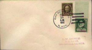 United States, 1922 Fourth Bureaus, Famous Americans, New Mexico