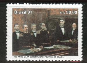 Brazil Scott 2331 MNH** 1991 Constitutiion stamp
