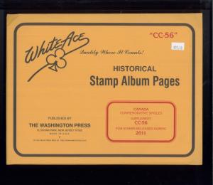 2011 WhiteAce Canada Historical Stamp Album Supplement Pages Item #CC-56