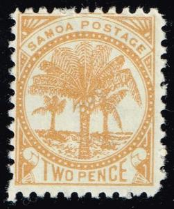 Samoa #13g Palms; Unused (16.00)