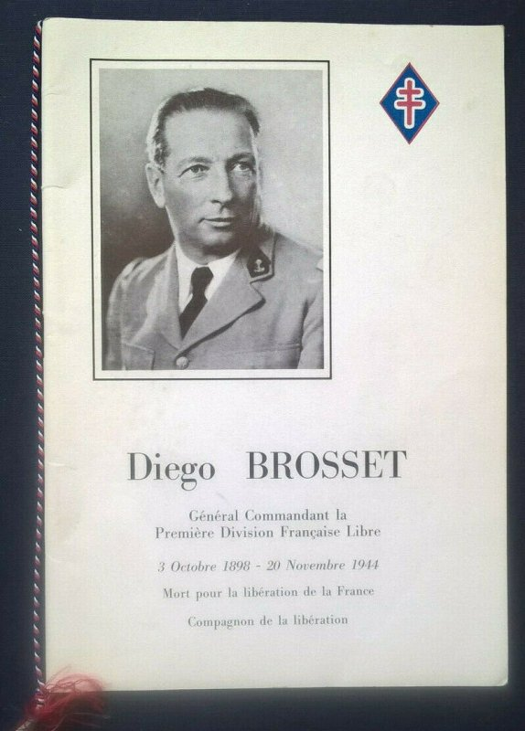 2 items - DIEGO BROSSET Livret de Luxe + STORY OF FREE FRENCH COLONIAL STAMPS