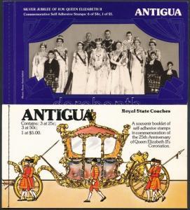 Antigua & Barbuda stamp 1977-1978 Elizabeth II. MNH 1977 Famous people WS225850