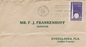 853 3c NY WORLD'S FAIR - F. J. Frankenhoff SARE