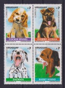 Uruguay 1999 Dogs  (MNH)  - Dogs