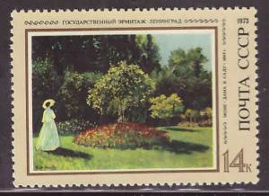 Russia Scott 4145 MNH** 1973 Monet Art stamp