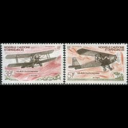 NEW CALEDONIA 1981 - Scott# C180-1 Plane Set of 2 NH