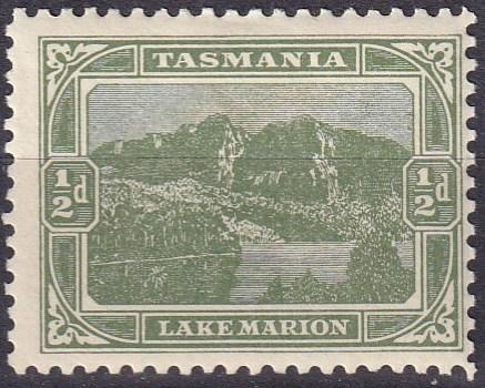 Tasmania #102   F-VF Unused  CV $4.25  (A19128)