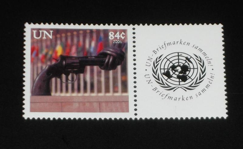 U.N.NEW YORK #903, 2006, PERSONALIZED ISSUE SINGLE, MNH,,NICE!! LQQK!!