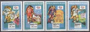 1992 Malagasy Republic 1399-1402 1994 FIFA World Cup in USA 10,00 €