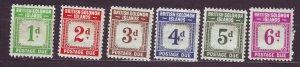 J23736 JLstamps 1940 solomos islands part of set mhr #j1-6 postage dues