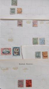 British Guiana QV collection