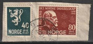 #232,293 Norway Used on paper