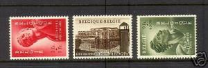 Belgium #B558 - #B560 VF Mint
