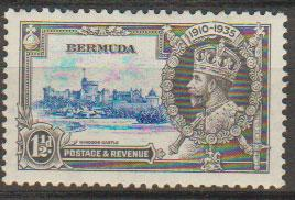 Bermuda SG 95 Mint Hinged  good centering