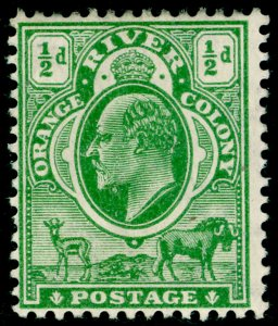 SOUTH AFRICA - Orange Free State SG148, ½d yellow-grn, M MINT. Cat £18. MULT CA