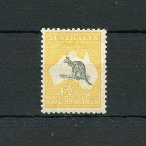 AUSTRALIA  KANGAROO  SCOTT#12, SG#45b   MINT NEVER HINGED --SCOTT VALUE $480.00