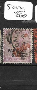 INDIA  FARIDKOT (PP3108B)  QV 8A  SG 12  VFU