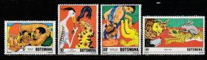 Botswana  1980  Scott No. 253-56  (N**)  Complet