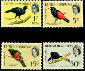BRITISH HONDURAS Sc#167a//175a 1967 QEII Defins Part Set OG Mint Most NH