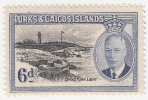 Turks and Caicos, Sc 112, MNH, 1950, Loading Bulk Salt