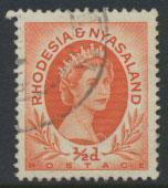 Rhodesia & Nyasaland  SG 1 SC# 141   Used  see scan and detail