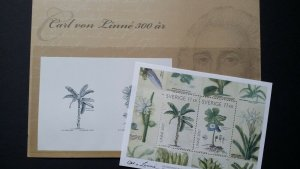 Sweden Carl von LINNE1997 Scott #2561 Botanical illustrations plants + MNH stamp
