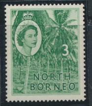 North Borneo SG 374 SC# 263 MVLH   see details