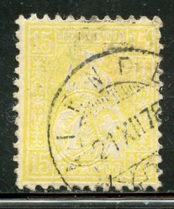 Switzerland # 54, Used. CV $ 45.00