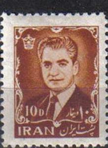 IRAN, 1962, MH 10d. Mohammed Riza Pahlavi
