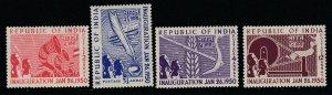 India, Sc 227-230 (SG 329-332), MLH