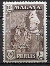 Malaya Perlis; 1957: Sc. # 34; **/MNH Single Stamp