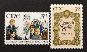 Ireland 1993 #897-8, Gaelic League, MNH.